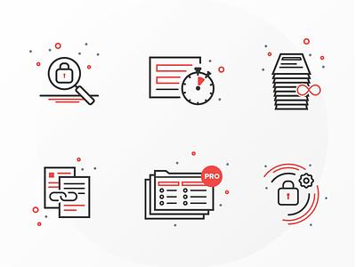 Icon Design digital agency agency imarc web  design ux  ui icons design icons