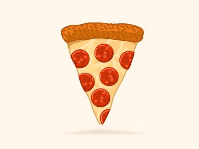 Delicious Old Friend! food delicious cheesy juice stickermule dribbble playoff pizza
