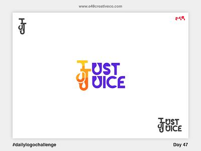 47/50 Just Juice Logo just logo juice