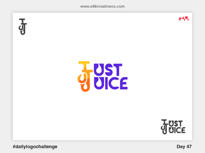 47/50 Just Juice Logo
