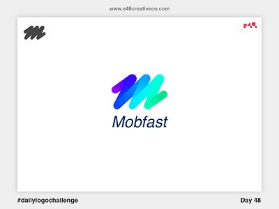 48/50 Mobfast Logo brand mark logo fast mobility