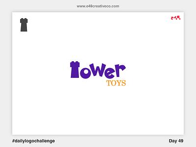 49/50 Tower Toys Logo brand mark logo toys tower