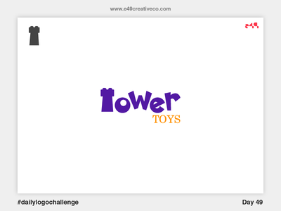 49/50 Tower Toys Logo