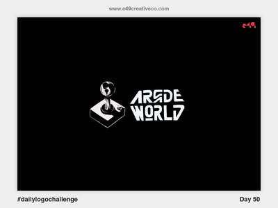 50/50 Arcade World Logo