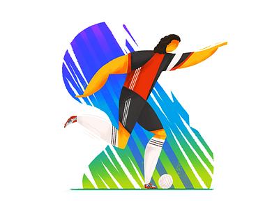 El principito | Andres Guardado Illustration adidas illustration player world cup soccer