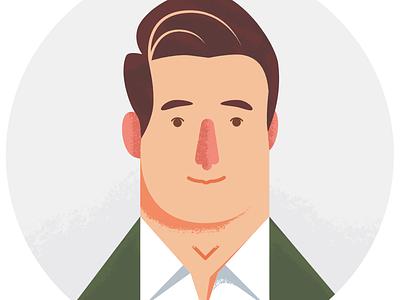 Eder | e49 Creative Co. portrait character avatar illustration