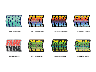 Lame Fame Enamel Pin