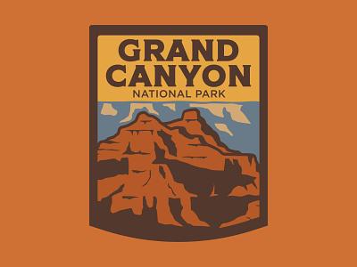 Grand Canyon... Again retro patch colorado river arizona grand canyon design outdoor badge national park wilderness outdoors logo vintage patch retro badge