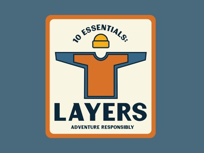 Layers vintage adventure patch retro retro badge retro logo outdoor badge national park wilderness outdoors badge