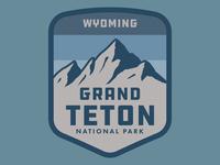 Teton Hat Patch