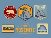 Yosemite Badges