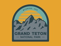 Grand Teton Retro