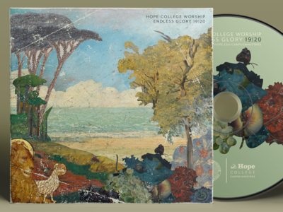 Endless Glory college hope cover cd landscape ocean lamb lion collage glory