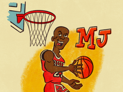 MJ mike bulls hoop goat basketball mj jordan michael