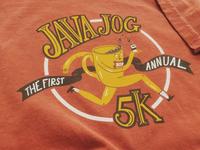 Java jog screenprint