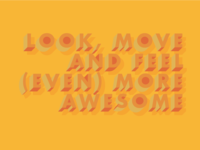 feel more awesome