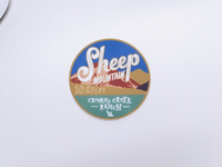 Sheep Mountain Sticker