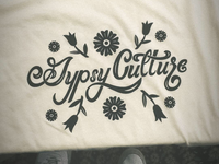 Gypsy Culture lettering