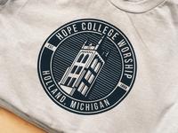 Hope College Worship badge