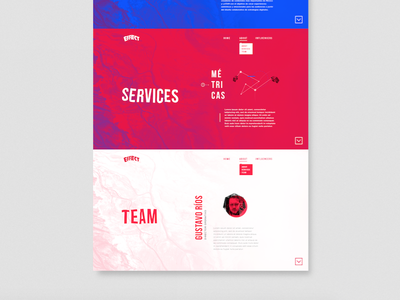 Landing web brand branding identity logo graphic design