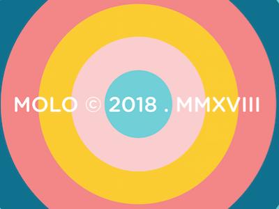 Molo brand branding identity logo graphic design