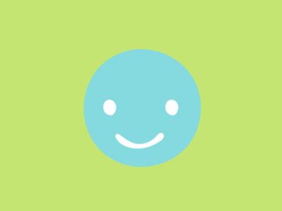 Smile branding illustration icon graphic brand identity design