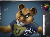 Puma cartoon