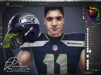 Seahawks Fanart wipB