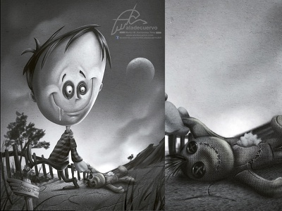 Creepy Guy trapo mascota halloween fanart dark.tim burton fanart creepy