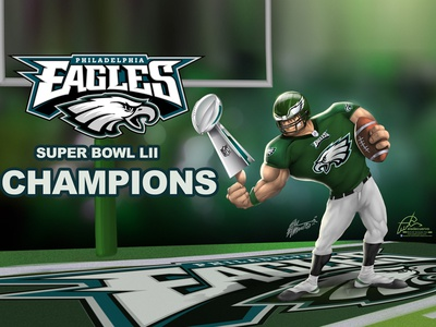 Eagles Nfl Champions super bowl lii fanart sports nfl philadelphia eagles