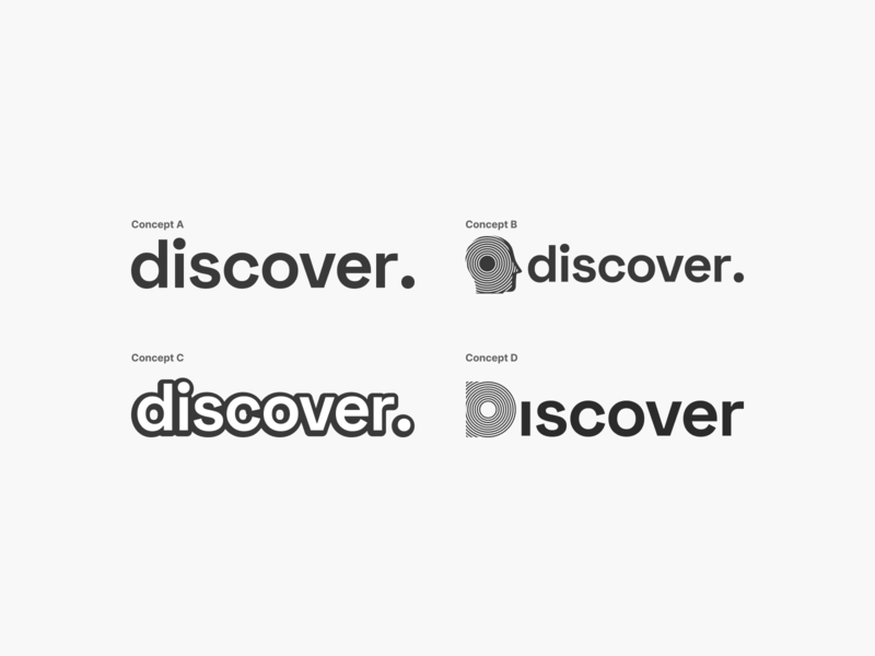 Logo Concepts for Discover