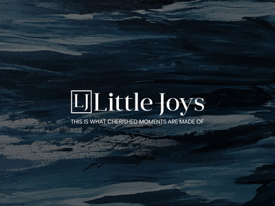 Little Joys Logo minimal webflow cms casestudy animation website web featured recent popular art ux ui debut vector flat design branding logo