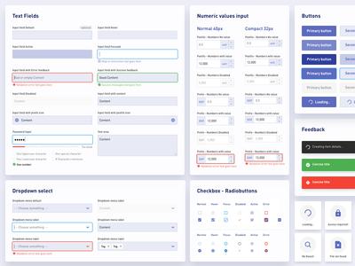 Design system components - V1.1