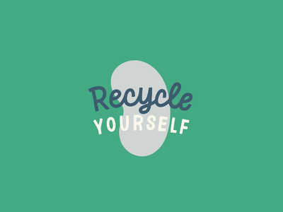 Recycle Yourself organ donation donate life ipad lettering hand lettering lettering works kidney disease awareness recycle yourself
