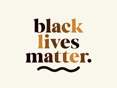 Black Lives Matter typography chicago protest chicago designer justice for george floyd equity blm black lives matter