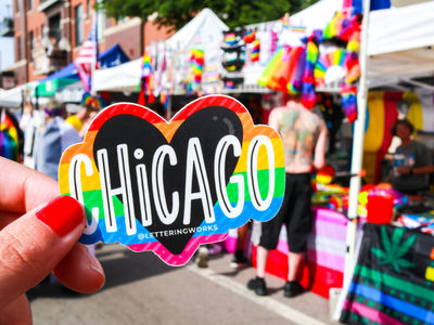 Chicago Pride Sticker