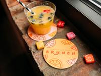 Freelancing Females Brunch - Custom Coasters