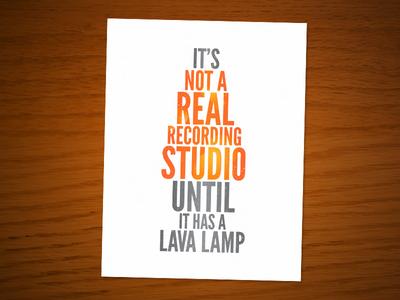 Lava Lamp Ad