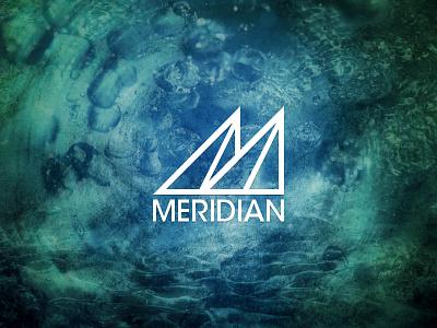 Meridian Logo Revisited logo photoshop band music