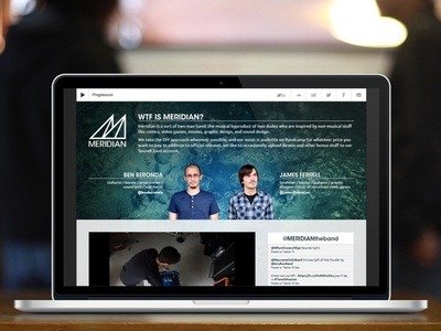 Meridian Website Redesign