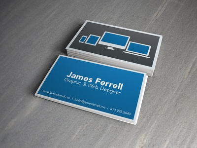 It's Business Time business card print