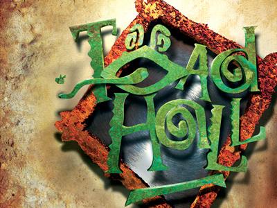 Toad Hall logo instillation