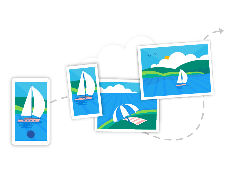 Automatic camera upload for the OneDrive Android app by Sari