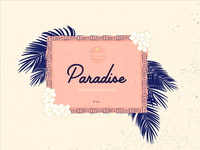 Paradise Label Design