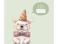 Birthday French Bulldog