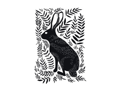 Does my hare look good? rabbits rabbit ipad pro illustration digital art