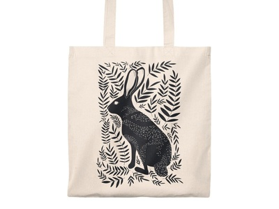 Does my hare look good? Tote Bag totebags tote bag totebag illustration