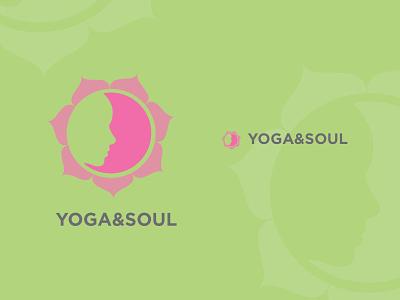 YOGA&SOUL yoga soul logo green