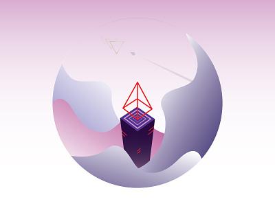 EscapeFromHeaven space vivid triangle