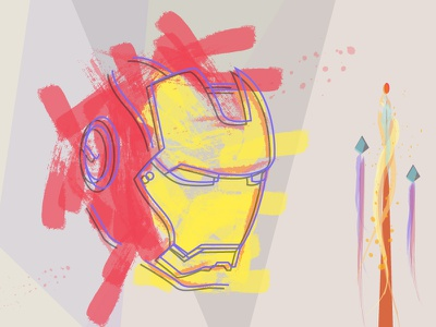 Iron Man Mark_sketch iron man marvel comic vector